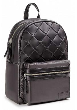 Фото Черный глянцевый городской рюкзак BBAG DEEP BLACK