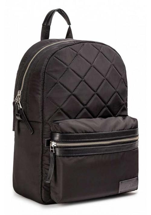 Черный матовый городской рюкзак BBAG BLACK