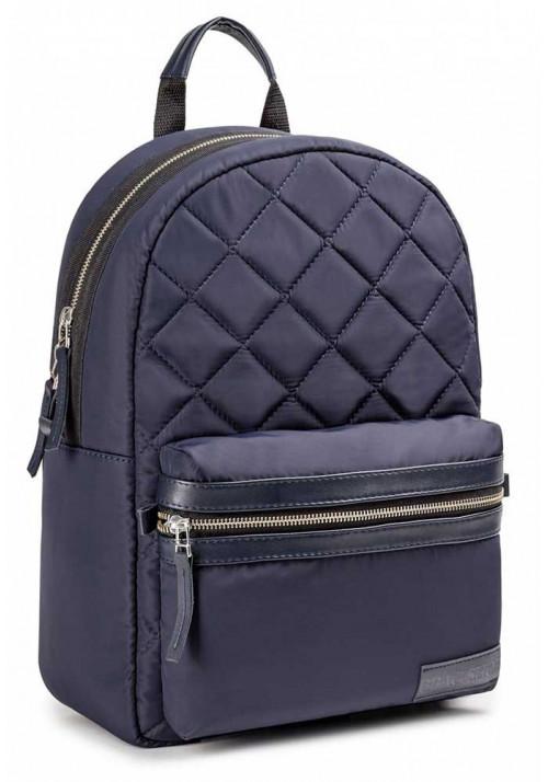 Синий матовый городской рюкзак BBAG NAVY