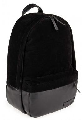 Фото Черный замшевый городской рюкзак для BBAG