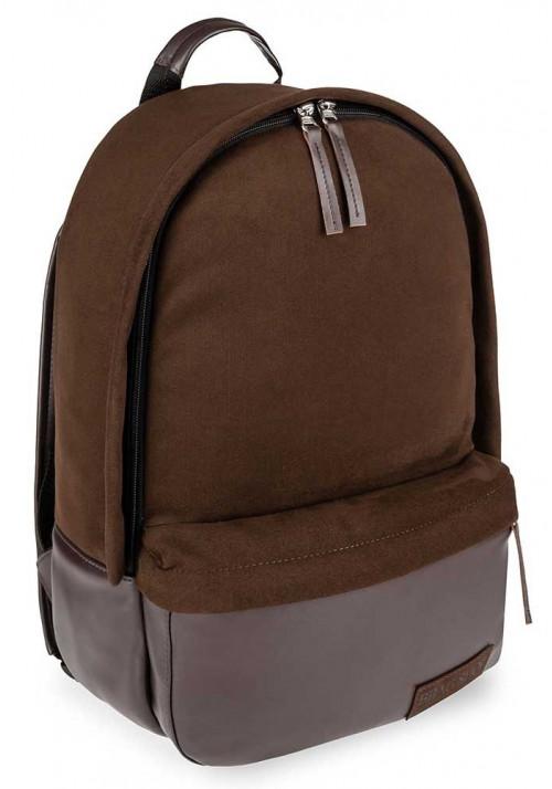 Коричневый замшевый городской рюкзак для BBAG