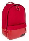 Красный замшевый городской рюкзак для девушки BBAG