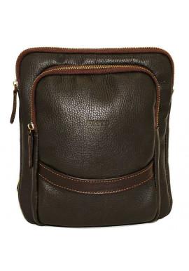 Фото Коричневая кожаная мужская сумка через плечо Vatto MK-12.2