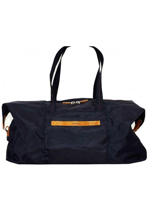 Очень вместительная синяя дорожная сумка Vatto