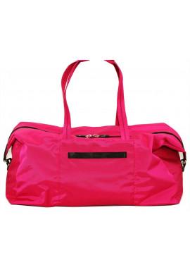 Фото Очень вместительная малиновая дорожная сумка Vatto