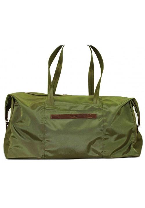 Очень вместительная дорожная сумка Vatto цвета хаки