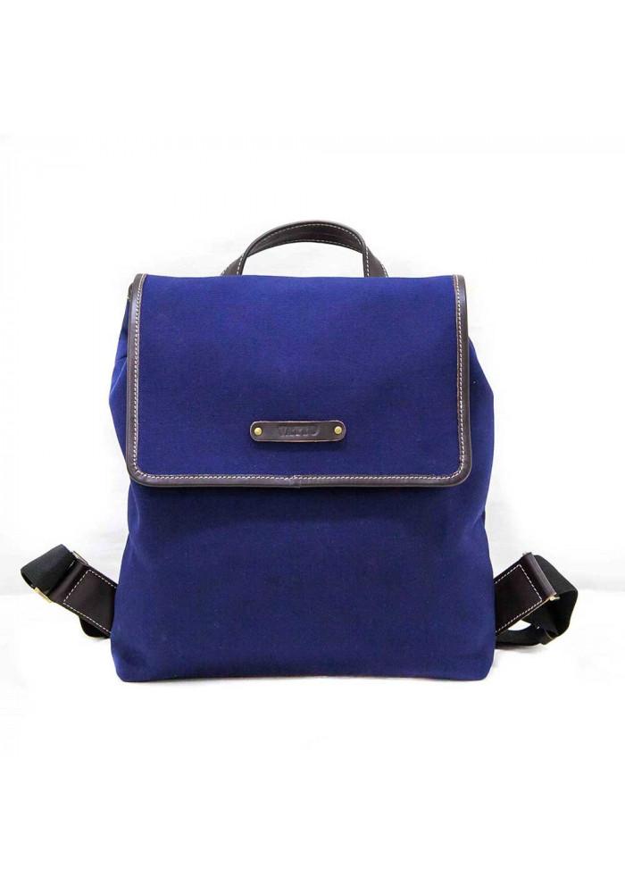 Красивый синий молодежный рюкзак Vatto