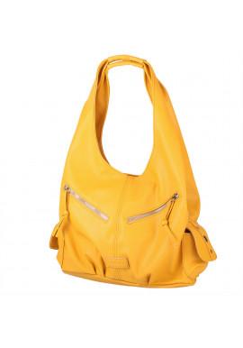 Фото Женская сумка-хобо LASKARA LK-10239-yellow