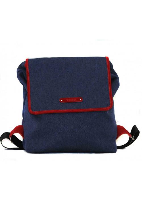 Эффектный синий молодежный рюкзак Vatto