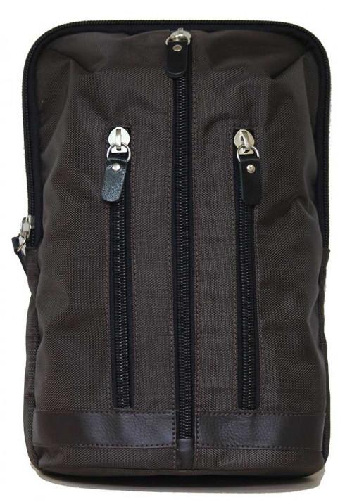 Городской рюкзак коричневый Vatto через плечо