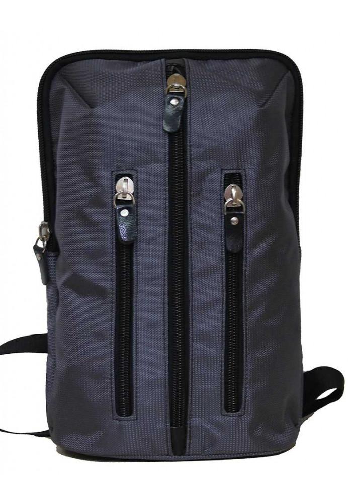 Городской рюкзак серый Vatto через плечо