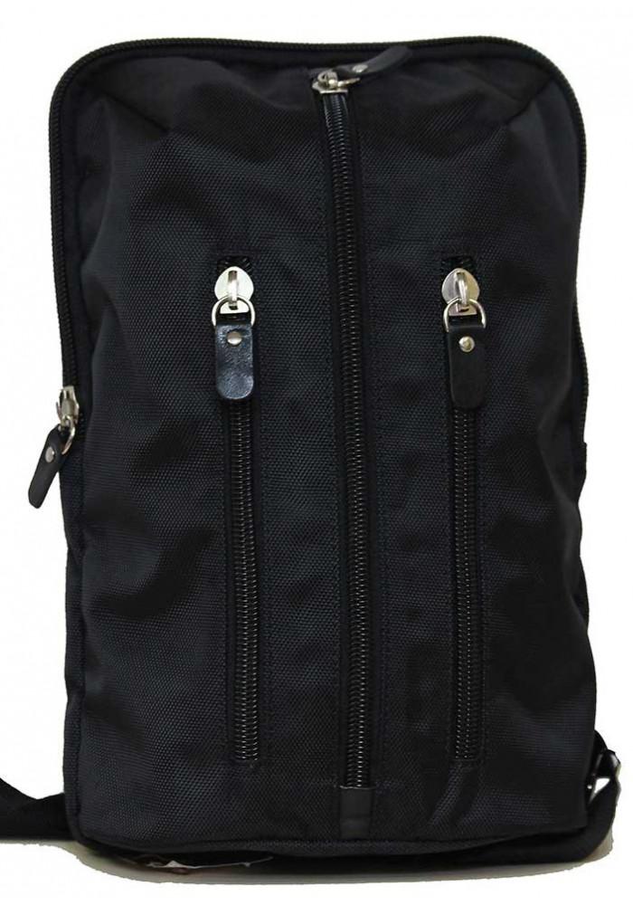 Городской рюкзак черный Vatto через плечо