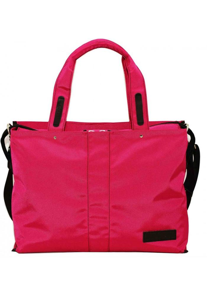Дорожная женская сумка малиновая Vatto