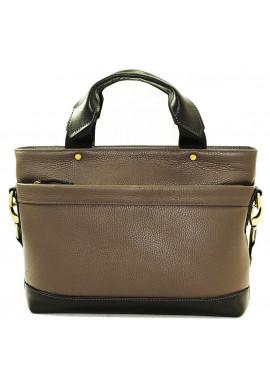 Фото Мужская кожаная сумка черая Vatto