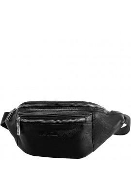 Фото Мужская кожаная сумка на пояс VITO TORELLI VT-6298-black