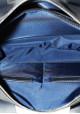 Стильная мужская кожаная сумка Vatto синяя