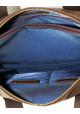 Большая мужская кожаная сумка Vatto коричневая, фото №7 - интернет магазин stunner.com.ua