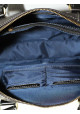 Модная мужская кожаная сумка Vatto из черной кожи флотар