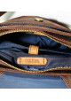 Сумка на плечо мужская кожаная Vatto коричневая матовая, фото №2 - интернет магазин stunner.com.ua