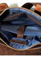 Оригинальная сумка на плечо мужская кожаная Vatto коричневая коричневая, фото №10 - интернет магазин stunner.com.ua