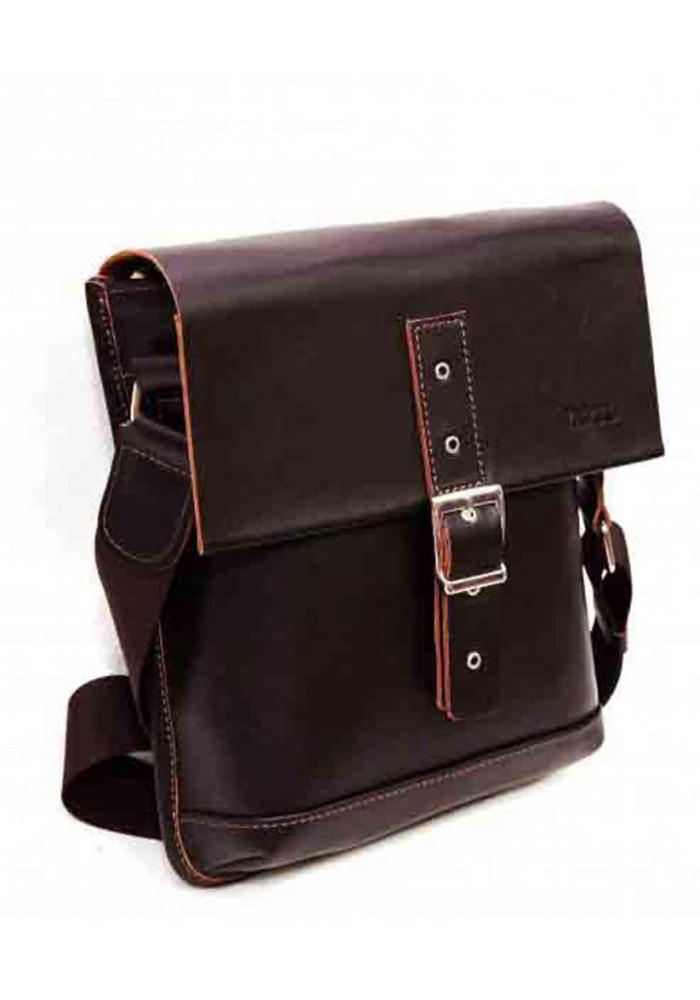 95c0ee451748 ... Сумка-планшет мужская кожаная коричневая Vatto, фото №2 - интернет  магазин stunner.