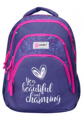 Фото Подростковый рюкзак SMART TN-01 Four plus Heard 558634