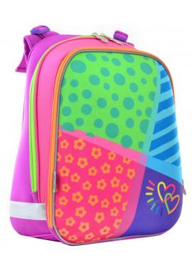 Фото Школьный каркасный ранец 1 Вересня H-12 Bright colors 554581