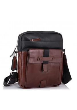 Фото Кожаная мужская сумка через плечо Tiding Bag T0037