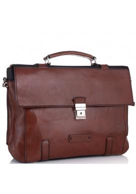 Фото Мужской кожаный портфель Tiding Bag T0041