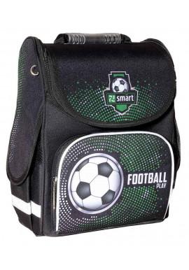 Фото Школьный каркасный портфель SMART PG-11 Football 558082