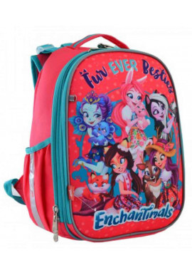 Фото Каркасный рюкзак для школы YES H-25 Enchantimals 556179