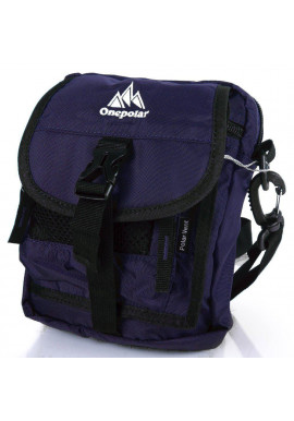 Фото Мужская сумка через плечо ONEPOLAR W3088-navy