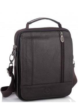 Фото Мужская кожаная сумка на плечо HD Leather NM24-213C-1