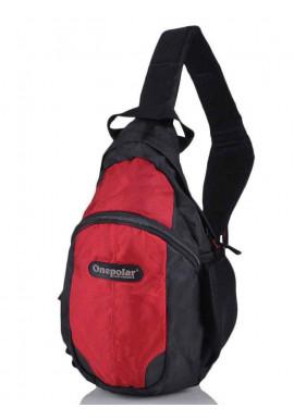 Фото Рюкзак на одно плечо ONEPOLAR W1292-red