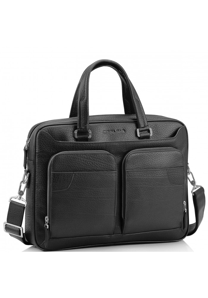 Фото Деловая мужская кожаная сумка Royal Bag RB8-1001A