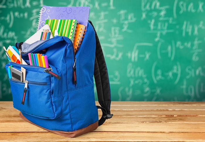 Школьные рюкзаки - знания за плечами носить!